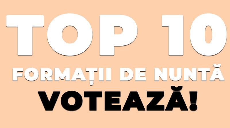 top 10 formatii de nunta din Suceava www.nuntasuceava.ro